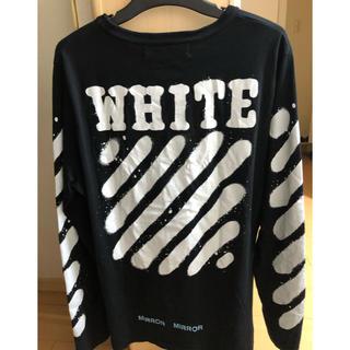 オフホワイト(OFF-WHITE)のoff  white ロンT(Tシャツ/カットソー(七分/長袖))