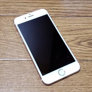 アイフォーン(iPhone)のiPhone 6s ローズゴールド 64GB (スマートフォン本体)