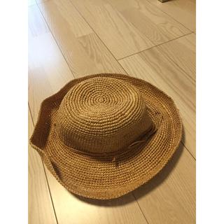 アクアガール(aquagirl)の麦藁帽子(麦わら帽子/ストローハット)