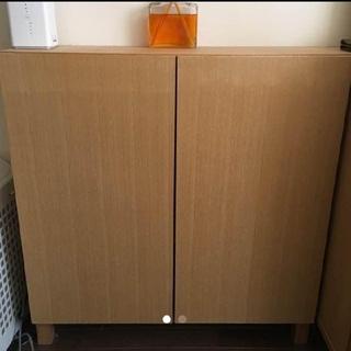 ムジルシリョウヒン(MUJI (無印良品))のcocopo様専用 木製 キャビネット(リビング収納)