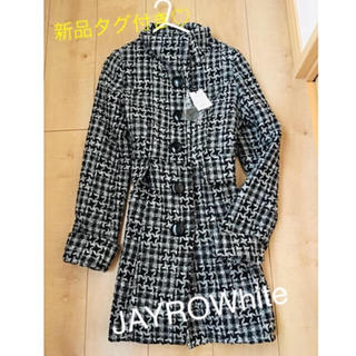 ジャイロホワイト(JAYRO White)の新品タグ付き JAYROwhite ロングコート♡値下げ!(ロングコート)