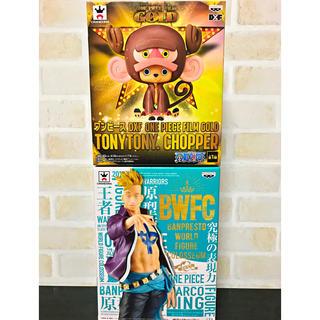 バンプレスト(BANPRESTO)のワンピース BWFC& GOLD フィギュア(*・∀-)b(アニメ/ゲーム)