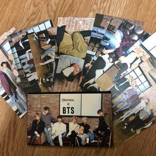 ボウダンショウネンダン(防弾少年団(BTS))のmediheal bts ポストカード(K-POP/アジア)
