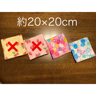 【アンジェリカ様】ダブルガーゼ ハンカチ 12枚セット(ハンカチ/バンダナ)