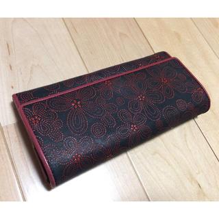 インデンヤ(印傳屋)の印伝の長財布(財布)