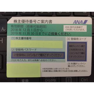 7枚 ANA株主優待券(航空券)