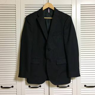 angelico メンズスーツジャケット ストライプ(スーツジャケット)