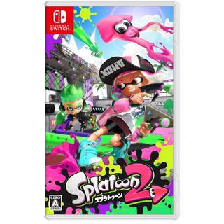 ニンテンドースイッチ(Nintendo Switch)のスプラトゥーン2 新品未開封(家庭用ゲームソフト)