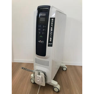 デロンギ(DeLonghi)のデロンギデジタルオイルヒーター QSD0712-MB(オイルヒーター)