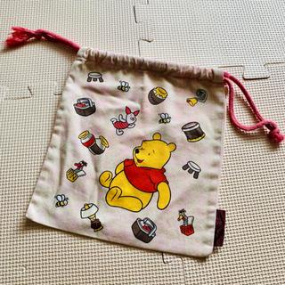 クマノプーサン(くまのプーさん)のプーさん 巾着袋(キャラクターグッズ)