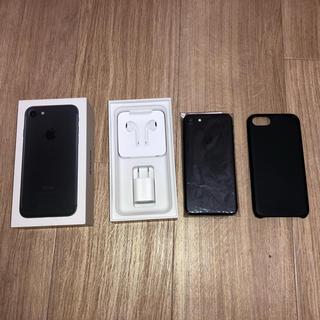 アイフォーン(iPhone)のiPhone7  Black  256 GB  docomo simフリー(スマートフォン本体)