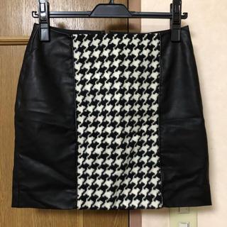 エゴイスト(EGOIST)のEGOIST レザー スカート(ミニスカート)
