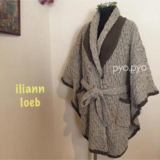 イリアンローヴ(iliann loeb)のiliann loeb☆ニットガウンコート(ニットコート)