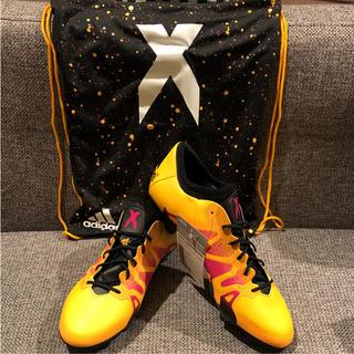 アディダス(adidas)の【新品】adidas X 15.1 HG 29.0cm トップモデル 固定式(シューズ)
