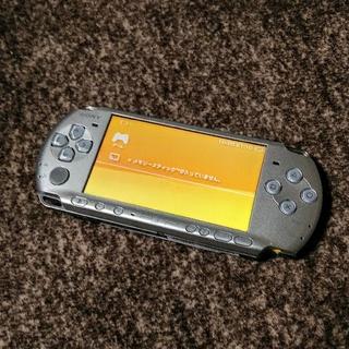プレイステーションポータブル(PlayStation Portable)のPSP 3000 本体  シルバー(携帯用ゲーム本体)