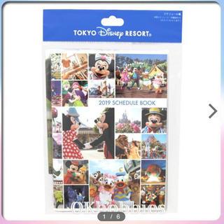 ディズニー(Disney)のディズニーリゾート 手帳 新品(カレンダー/スケジュール)
