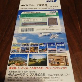 エーエヌエー(ゼンニッポンクウユ)(ANA(全日本空輸))のANA株主優待 一枚(その他)