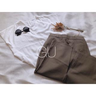 ジーユー(GU)のGU/ タイトスカート/カーキ(ロングスカート)