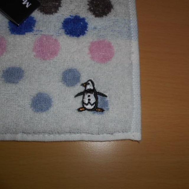 Munsingwear(マンシングウェア)の新品・未使用💕マンシングウェアタオルハンカチ(ホワイト) メンズのファッション小物(ハンカチ/ポケットチーフ)の商品写真