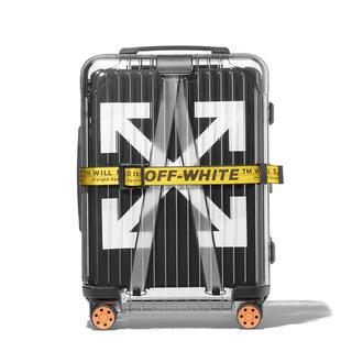 オフホワイト(OFF-WHITE)のOFF-WHITE×RIMOWA Cabin See Through Black(トラベルバッグ/スーツケース)