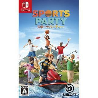 ニンテンドースイッチ(Nintendo Switch)のSwitch スポーツパーティー(家庭用ゲームソフト)