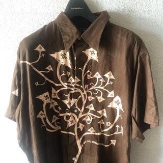 エルアールジー(LRG)のLRG シャツ ブラウン XL(シャツ)