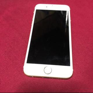 アイフォーン(iPhone)のiPhone6s ゴールド 64G au アップル(スマートフォン本体)
