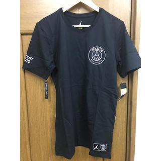 ナイキ(NIKE)のPSG jordan  tシャツ(Tシャツ/カットソー(半袖/袖なし))