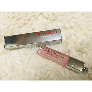 クリスチャンディオール(Christian Dior)の♡新品未使用 Dior アディクトリップマキシマイザー(pink)♡(リップグロス)