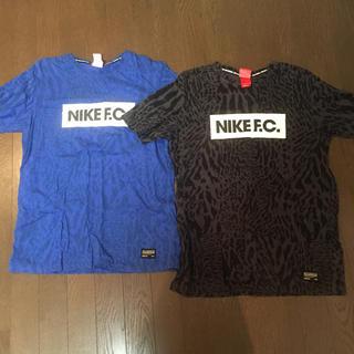 ナイキ(NIKE)のNIKE FC Tシャツ 2枚セット サイズL(Tシャツ/カットソー(半袖/袖なし))