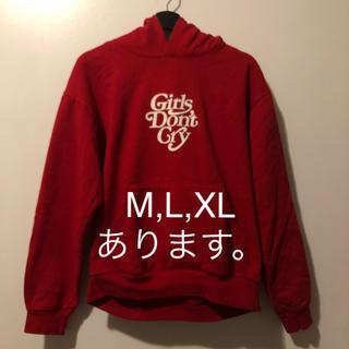 シュプリーム(Supreme)のgirls don't cry hoodie hypefest限定 M,L,XL(パーカー)