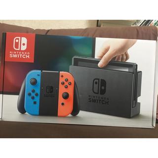 ニンテンドースイッチ(Nintendo Switch)の【新品未使用】ニンテンドースイッチ ネオン(家庭用ゲーム本体)