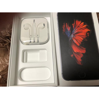 アイフォーン(iPhone)のiPhone6s イヤホン 箱(ストラップ/イヤホンジャック)