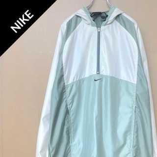 ナイキ(NIKE)のナイキ 【90s】 アノラックパーカー スウェット ジャージ プルオーバー(ナイロンジャケット)
