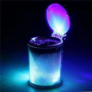 車用 灰皿 七色LEDライト(灰皿)