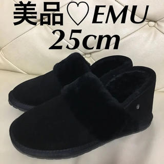 美品♥EMU♥エミュー♥25cm♥ブラック♥ブーツ