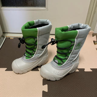 クロックス(crocs)のクロックス、スノーブーツ新品未使用(ブーツ)
