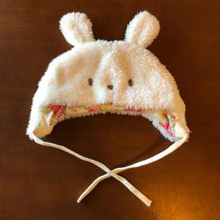 ニシキベビー(Nishiki Baby)のニシキベビー スウィートガール うさみみ 帽子(帽子)
