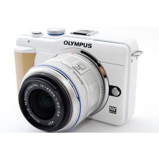 オリンパス(OLYMPUS)の❤️スマホに写真を送れる❤️オリンパス E-PL1s レンズキット(ミラーレス一眼)