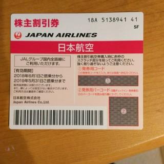 ジャル(ニホンコウクウ)(JAL(日本航空))の早い者勝ち 日本航空株主優待券(航空券)