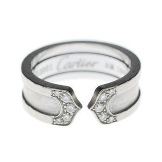 カルティエ(Cartier)のCartierカルティエ2C750WG18K金ホワイトゴールドダイヤリング指輪(リング(指輪))