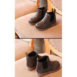 【こげ茶】ブーツ★靴★シューズ★子供靴★マーチン靴風(ブーツ)
