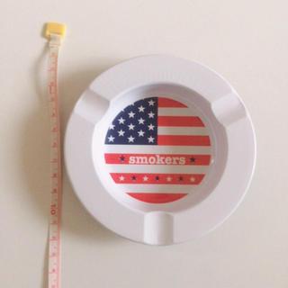 アメリカ国旗 灰皿 小物入れ 白(灰皿)