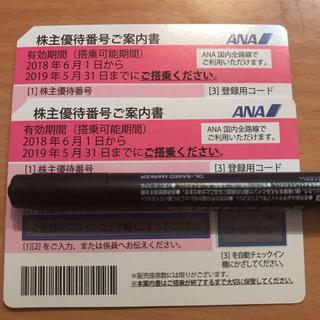 エーエヌエー(ゼンニッポンクウユ)(ANA(全日本空輸))のANA 株主優待券 番号通知対応可能(航空券)