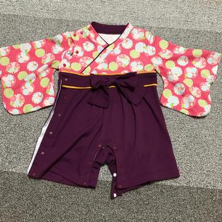 *袴風カバーオール*(和服/着物)