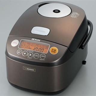ゾウジルシ(象印)の象印 炊飯器 圧力IH式 鉄器コートプラチナ厚釜 1升 NP-BE18-TD(炊飯器)