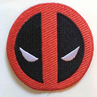 ディズニー(Disney)のMARVEL デッドプール Deadpool Avengers ワッペン 7cm(その他)