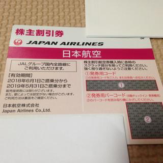 ジャル(ニホンコウクウ)(JAL(日本航空))のJAL株主優待券  1枚(航空券)