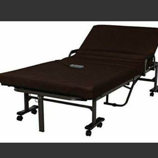 電動リクライニング 折りたたみベッド(簡易ベッド/折りたたみベッド)