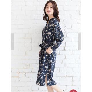 ショコラフィネローブ(chocol raffine robe)の花柄ワンピース(ロングワンピース/マキシワンピース)